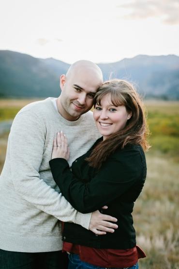 Nick & Erin Engaged- Colorado Estes Park-20