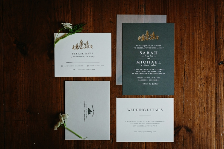 Sarah & Michael Married - Colorado Wedding TJP-30