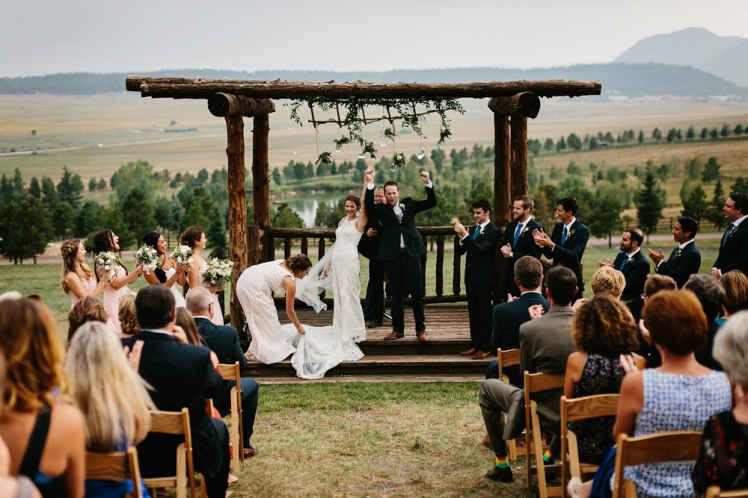 Sarah & Michael Married - Colorado Wedding TJP-87